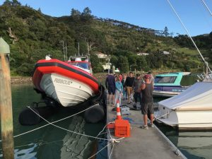 Coastguard NZ-Whangaroa tests their new M650 AirBerth Boat Lift